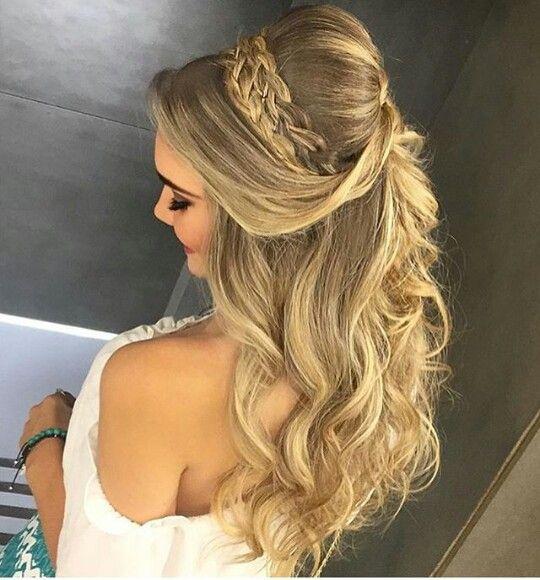Penteado princesa