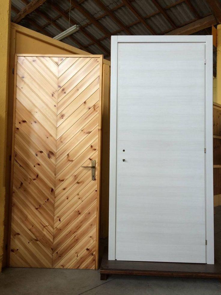 Porte di qualità in legno massello! Porta colore legno naturale a soli 148,00 Euro  Porta bianca a soli 220,00 Euro