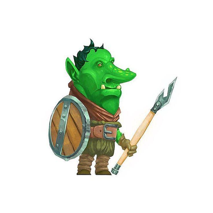 Goblin, the dungeon dweller :) #goblin #art #illustration #fantasy #dnd #green #monster #character #cartoon #concept #cg #drawing #roleplay #арт #иллюстрация #гоблин #рисунок #фэнтези #рпг #персонаж #графика #dungeon #sketch