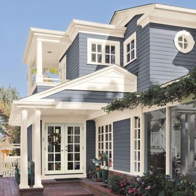 148 best images about exterior house paint colors on - Most popular grey exterior paint ...