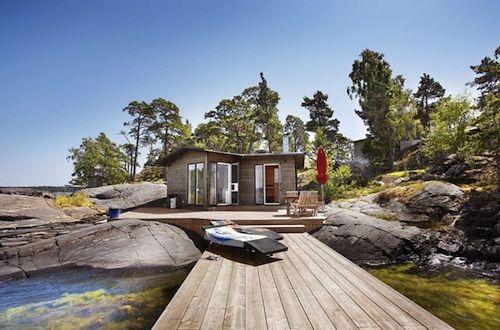 Tiny lake house