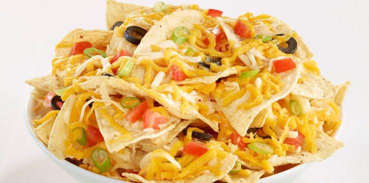 Nachos au fromage pour l'apéro à la mexicaine