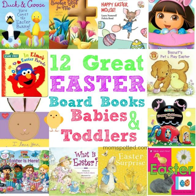 12 Great Easter Board Books for Babies & Toddlers #easter #toddlers #Boardbooks