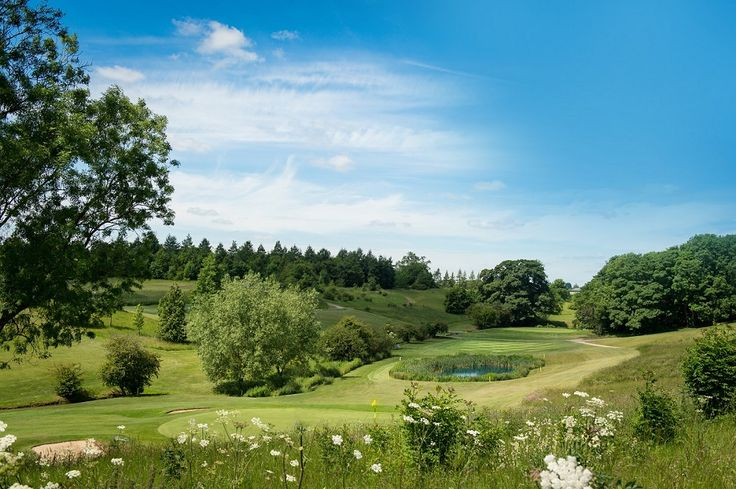 Two 18 hole championship golf courses criss-cross the stunning valley, with lakes and brooks that meander across the landscape.