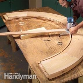 Routers are one of the most versatile woodworking tools, useful not just for making trim and cutting edges, but for solving a whole range of woodworking problems. Learn how to cut curves, straighten boards, flatten bows and much more.