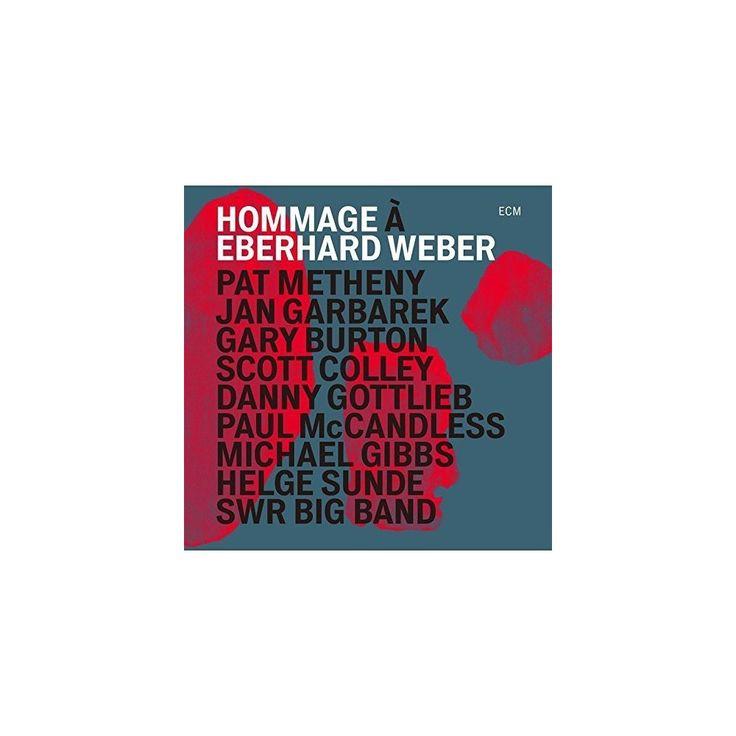 Pat Metheny / Jan Garbarek / Gary Burton - Hommage to Eberhard Weber (CD)