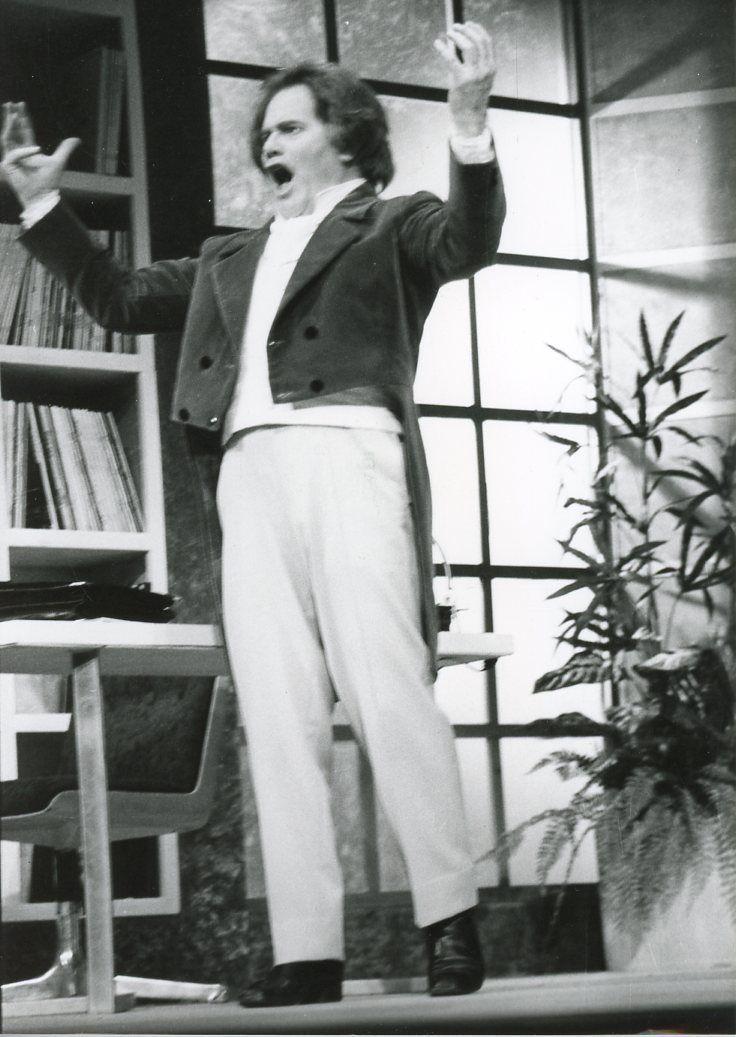 Bernard Fresson Dans LA Pièce DE Théâtre 034 LA XE DE Beethoven 034 Vintage Print PHO | eBay
