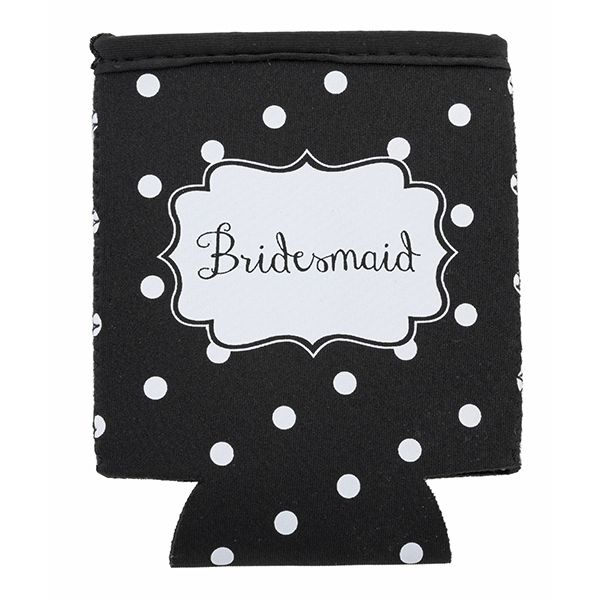 Insulated Coozie-Bridesmaid - Occasionally Made - Classic Gifts with a Trendy Twist!