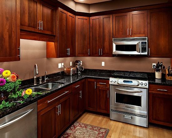 color design for kitchen best 25 cherry wood cabinets ideas on cherry 5537