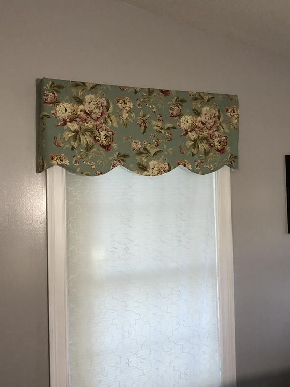 Window Valance Curtains Kitchen Valance Curtains Window Valances Window Topper Modern Window Valances Scalloped Valance Custom Valance In 2020 Window Toppers Kitchen Valances Window Valance