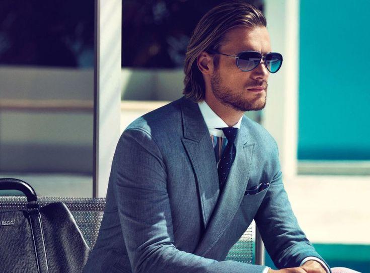 Classy --Gabriel Aubrey for Hugo Boss Black Spring/Summer 2013 Campaign