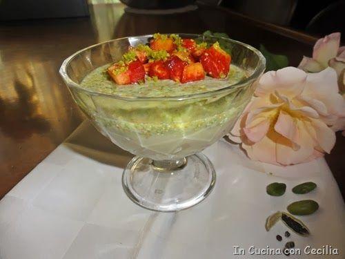 Dolce al cucchiaio veloce: kulfi al pistacchio
