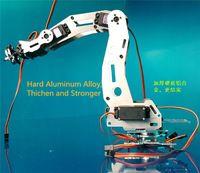 6DOF Robot Arm a2, Full metal, Couple élevé servos / Robot de contrôle pièces pour bricolage, Bras de Robot industriel de développement