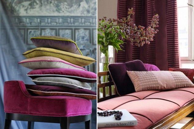 Kolekcje tkanin Zimmer+Rohde są inspirowane dziełami sztuki.  http://www.weranda.pl/inspiracje/15029-tkaniny-klasyczne-i-nowoczesne