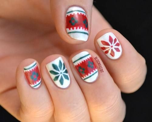 Must try this holiday nail art!