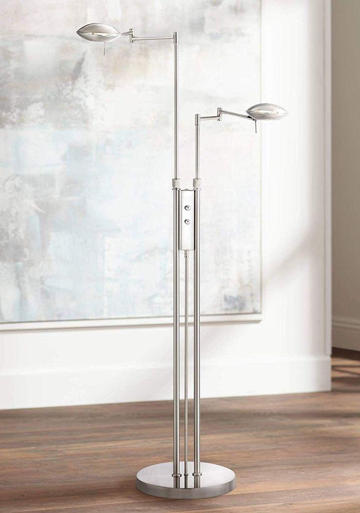Journey Modern Pharmacy Floor Lamp LED Adjustable Swing