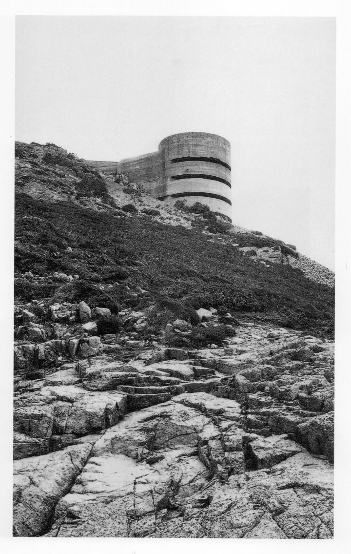 Another WWII bunker from Paul Virilio's seminal book 'Bunker Archaeology'.