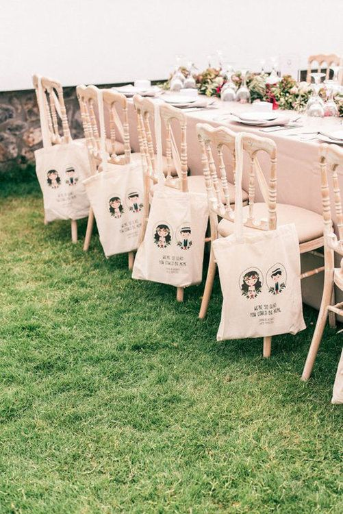 41 gifts for your wedding guests – charming attentions to remember
