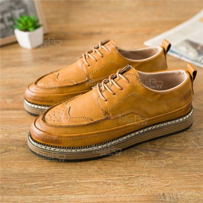 Yüksek Kaliteli Malzemelerden Üretim Moda Erkek Ayakkabı Modelleri - 571582 - 10-2