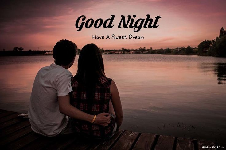 New Good Night Image With Love Couple