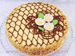 торт медовик с кремом из вареной сгущенки