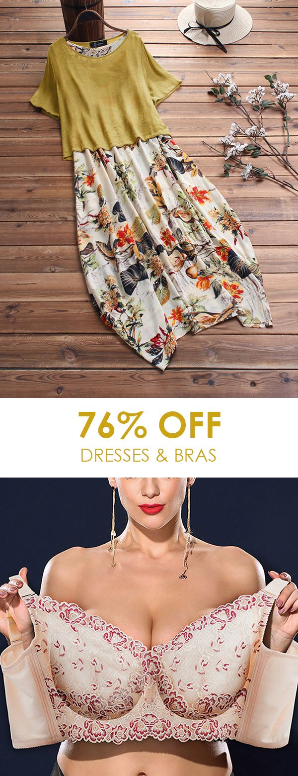 Casual dresses and bras for women, colors and size…