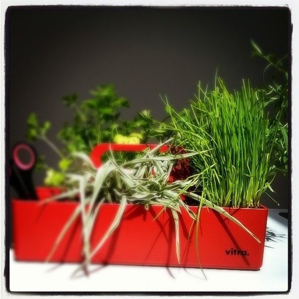 This Vitra toolbox is ready for fresh summer salads! What do you use your Toolbox for?