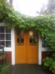 dubbeldörrar gårdshus