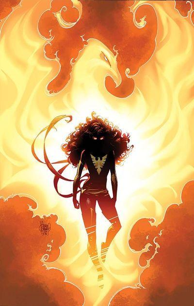 Dark Phoenix by Adam Kubert