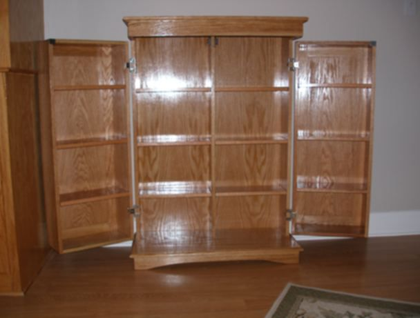 Dvd Storage Cabinet Plans Woodworking Projects Plans