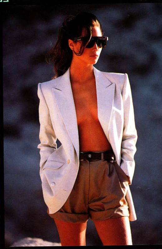 ☆ Christy Turlington | Photography by Patrick Demarchelier | For Vogue Magazine UK | April 1988