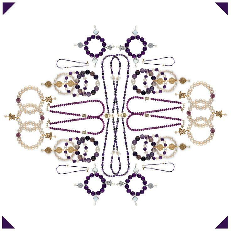 We are seeing all things purple in bowerhaus kaleidoscope ..