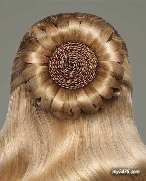 Beautiful Hairstyles Design : The most beautiful hair in world foods