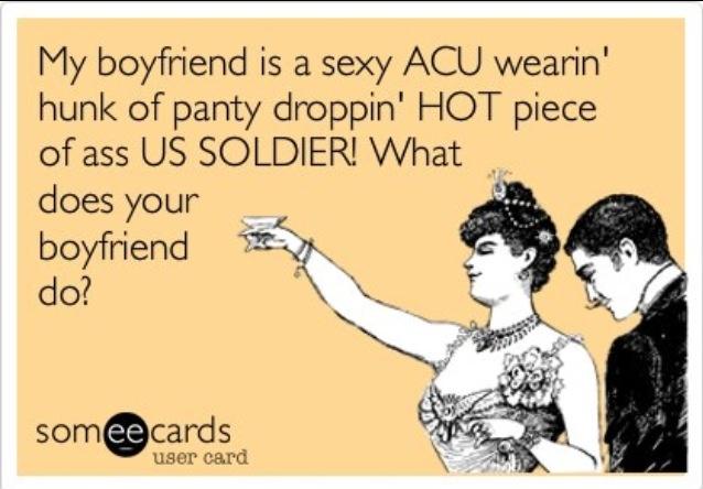 haha, change 'boyfriend' to husband and you got it! ;)