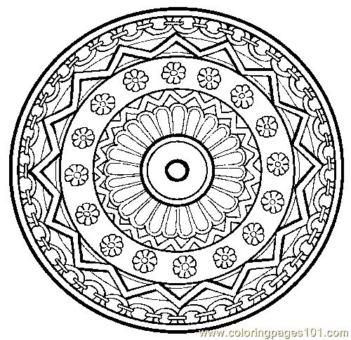 mandala coloring pages printable free printable coloring page mandala coloring page 24 cartoons - Free Print Coloring Pages For Kids
