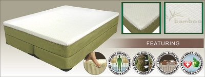 Allura & Ultra-Pedic Eco-Friendly Self-Adjusting Sleep System. Natural Pour Memory-Cell Mattresses with Natural Organic Cotton Covers offer comfort beyond compare!  http://www.healthysleep.us/6m7/memory-cell-mattress.html  Queen size starts at $ 1199.99
