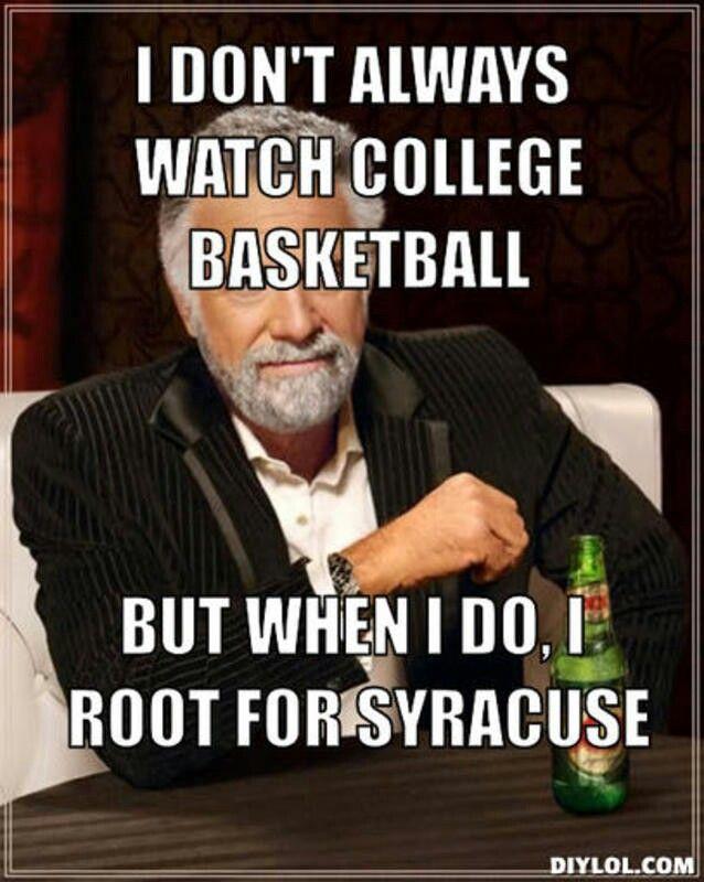 Memes Syracuse Basketball