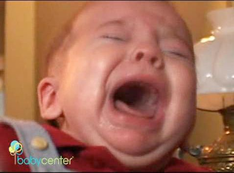 How to calm a crying baby   video