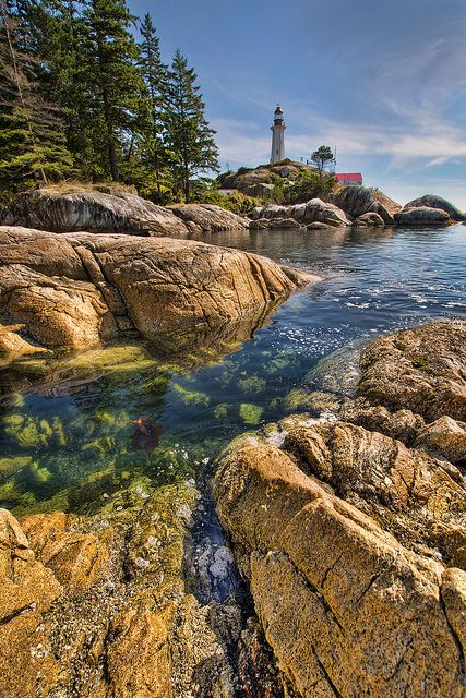 Point Atkinson Lighthouse in West Vancouver BC