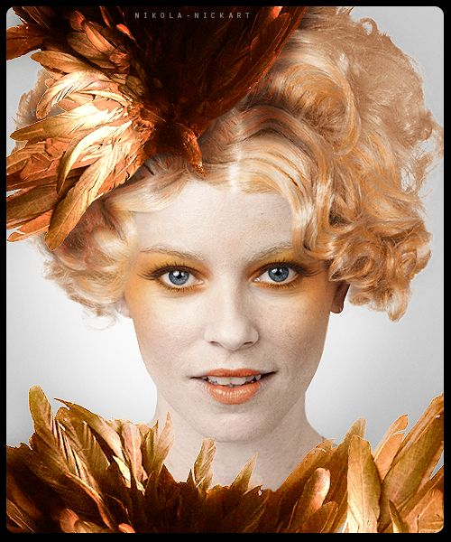 Fan art prediction of how Effie will look in Catching Fire.