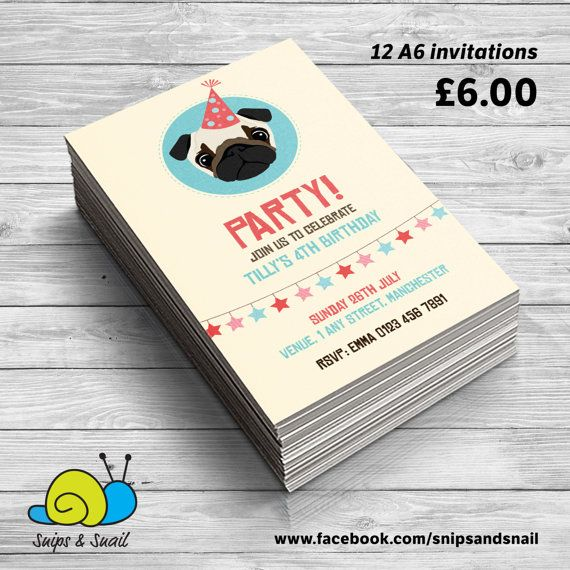 Best 25 Personalised party invitations ideas – Personalised Party Invites