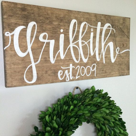 custom sign for rachelbiello by RusticSoulDesign on Etsy
