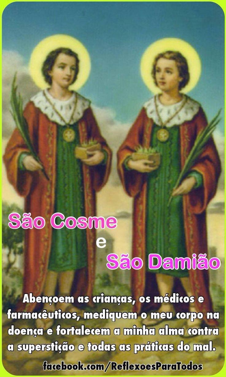 27 de Setembro - Dia de São Cosme e São Damião  (acesse a história, com link para a oração)