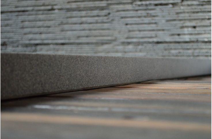 1200x1000 Grey Granite Solid Stone Bathroom Shower Tray KIAORA