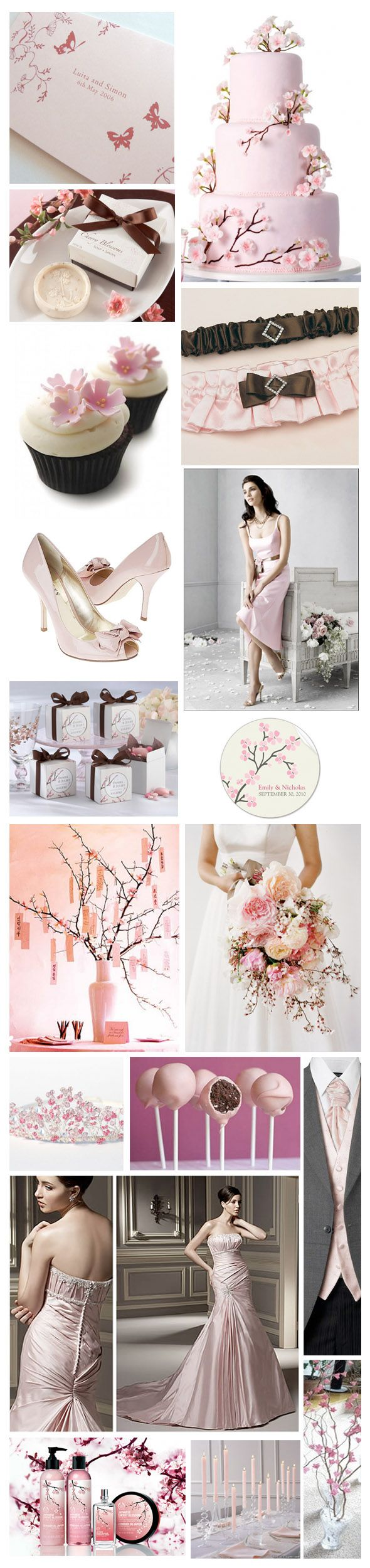 310 Best A A Cherry Blossom Wedding Images On Pinterest Cake