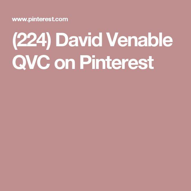 (224) David Venable QVC on Pinterest