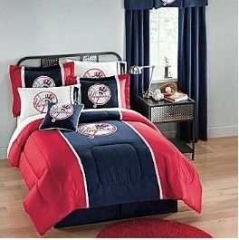 New York Yankee Bedding Twin Set
