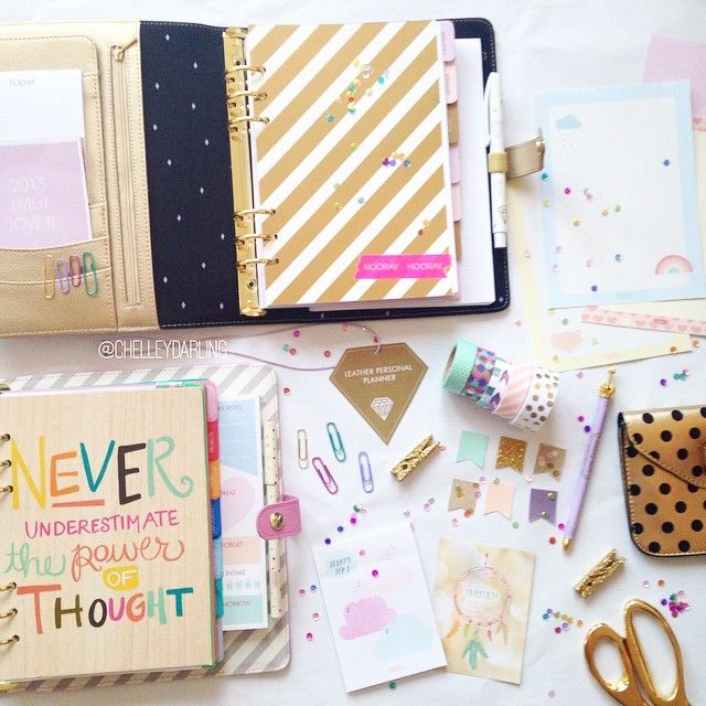 Lately, nothing makes me happier than setting up new planners and organizing informati...