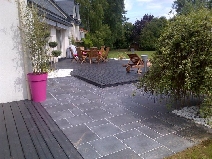 Les 25 meilleures id es de la cat gorie terrasse composite for Amenagement d une terrasse