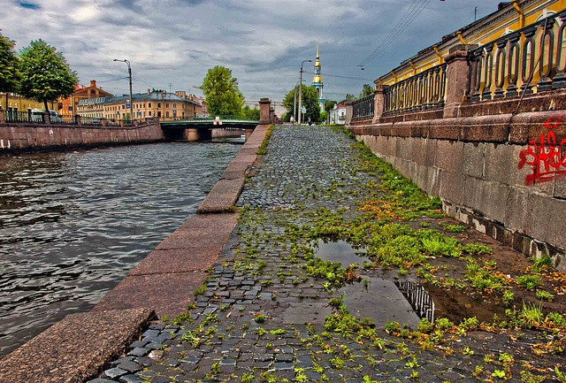Kryukov channel, St. Petersburg
